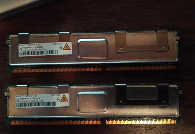 Два модуля памяти от сервера HYS72T128920HFA-3S