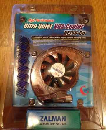 Новый Zalman VF700-Cu Ultra Quiet VGA Cooler
