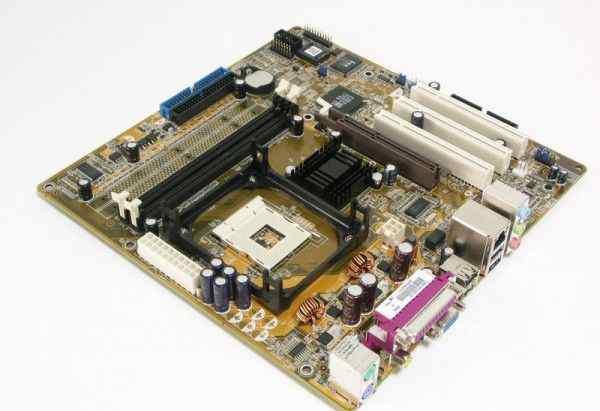 Отличная плата Asus P4SP-MX на сок478 (процессор)
