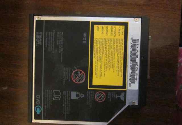 HLG GDR-8081N 8x-24x Slim IDE DVD-ROM Drive