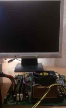 Мат. плату MSI MS-6526Gv2 + проц + вент + память
