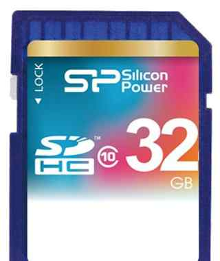 Silicon Power sdhc 32GB Class 10 - карта памяти