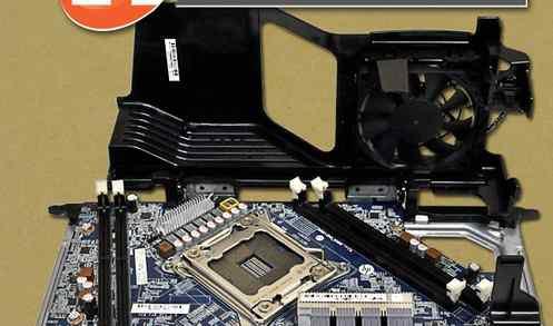 HP Z620 riser плата для установки второго CPU