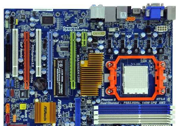 AsRock M3A785GXH/128M Socket AM3