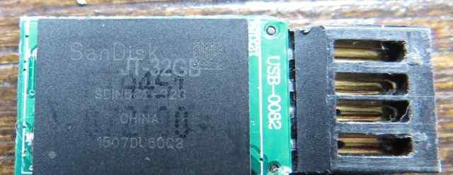 Nand BGA sdin5C2-32G SanDisk JT-32GB на флешке