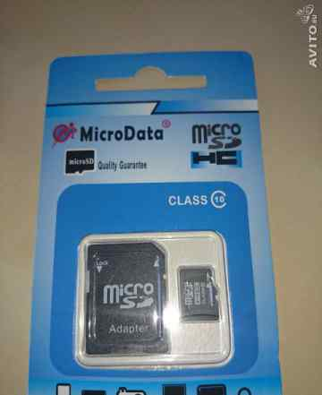 Микро сд карта памяти Micro SD 64gb 64 гб 10 класс