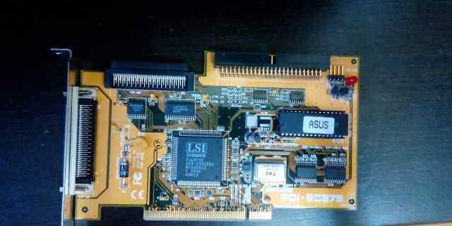 Asustek SC-875 PCI scsi контроллер