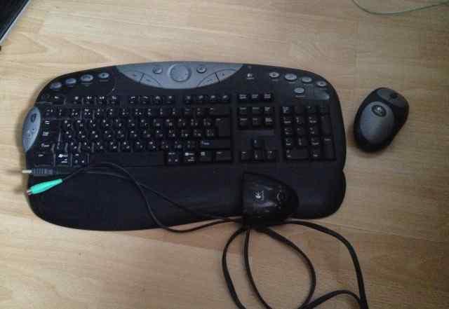 Беспроводная клавиатура и мышь Logitech