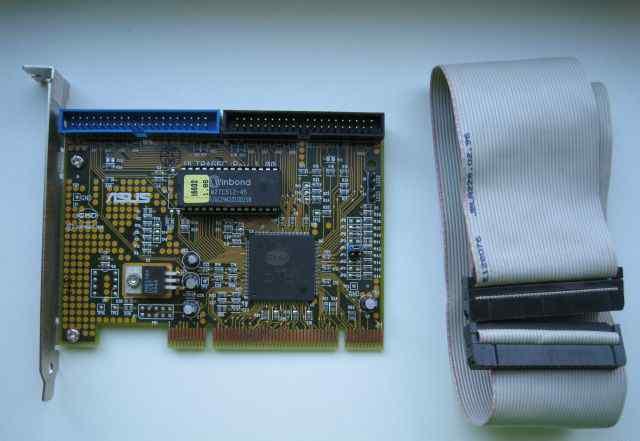 Контроллер ATA 66 + шлейф