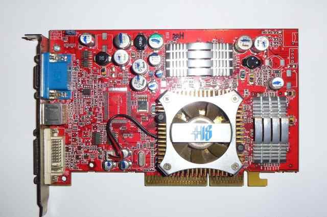 Видеокарта ATI 9600XT 128Mb AGP8x 128bit TV-Out DV