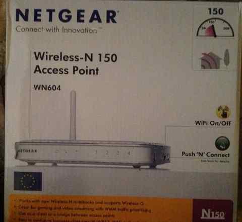 Wi-fi точка доступа netgear