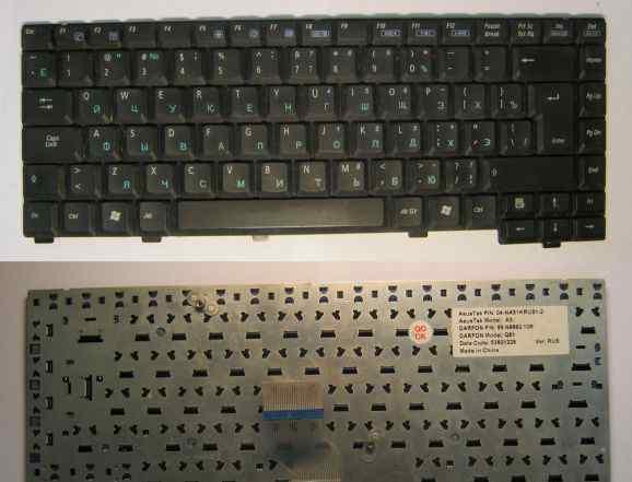 Клавиатура для ноутбука asus