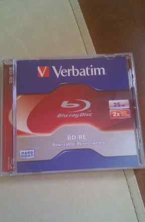 Диск Vebratim Blu-ray BD-RE 25 Gb Rewritable