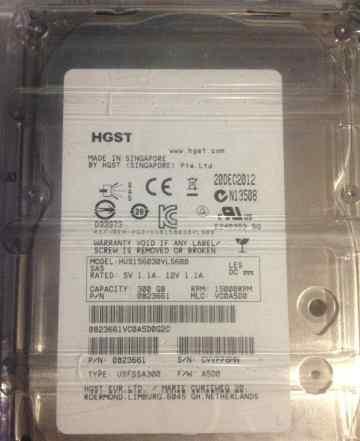 Жесткий диск SAS Hitachi HUS156030VLS600 300gb