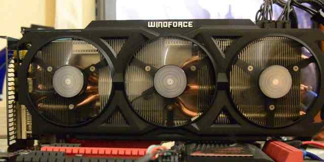 Кулер от 280x gigabyte виндфорс3