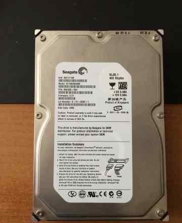 SATA 400GB seagate 7200 / 3.5