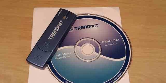 Wi-Fi адаптер Trendnet TEW-444UB
