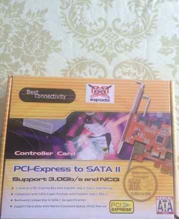 Контроллер PCi-Express to SATA II