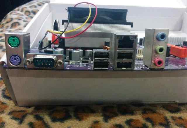 Asus Nforce6m + 2gb ddr2 + amd athlon 64 x2