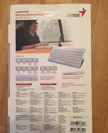 Bluetooth клавиатуру Genius LuxePad 9000