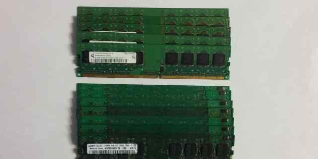 Оперативная память DDR2 512Мб