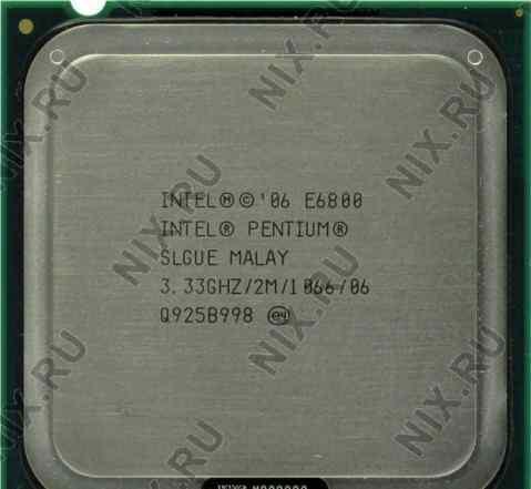 Intel Pentium Processor E6800(2M Cache, 3.33 GHz