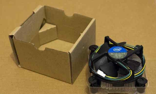 Кулер Intel original новый (1150, 1155, 156)