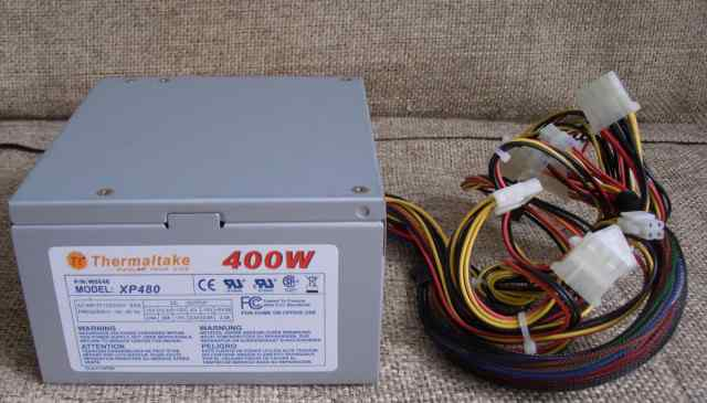 Блок питания ATX 400W ThermalTake XP480