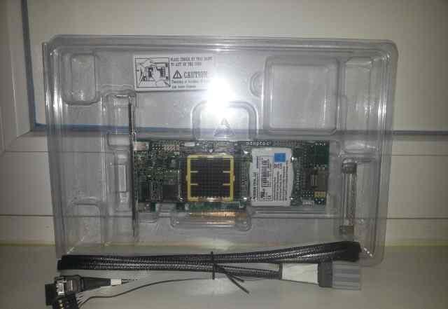 Raid контроллер Adaptec 5405 + BBU + кабели
