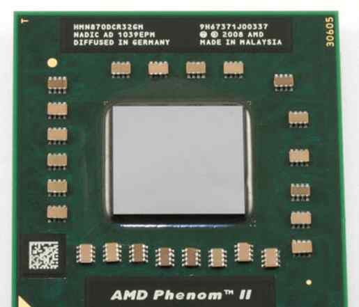 AMD Phenom II Quad-Core Mobile N930