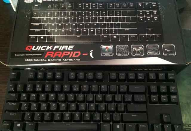 Клавиатура Cooler Master QuickFire Rapid i