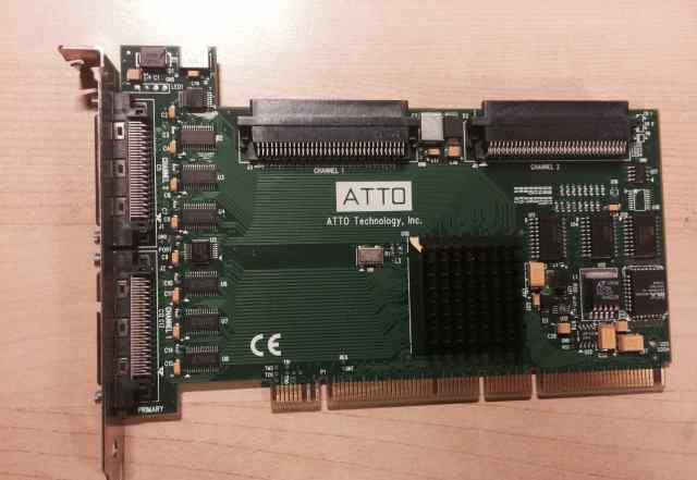 Контроллер Atto UL4D expresspci scsi