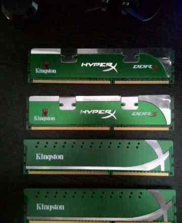 DDR3 Kingston HyperX 1600 (2x2 GB)