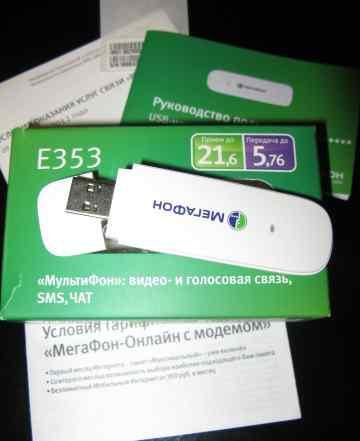 3G USB-модем Мегафон E353