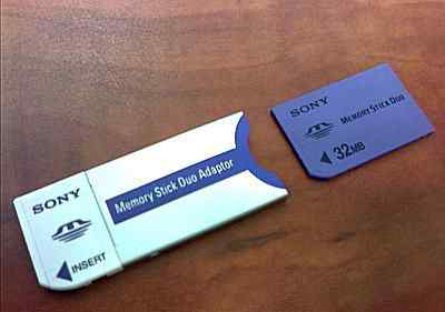 Memory Stick DUO Adaptor переходники
