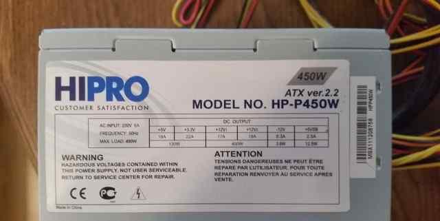 Блок питания hipro HP-E450W/HP-P450W