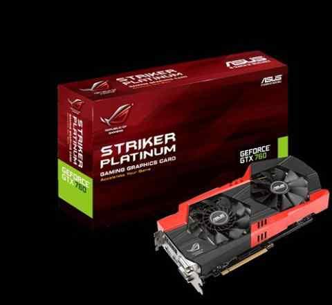 Видеокарта ROG striker-GTX760-P-4GD5