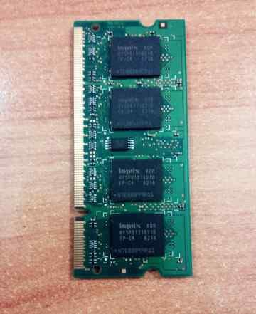 2 плашки оперативной памяти DDR2 по 512мб
