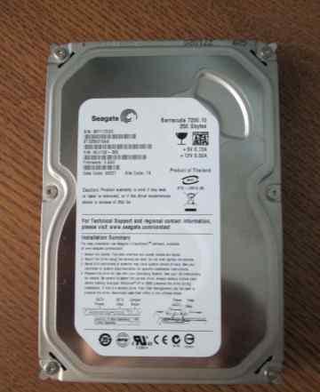 Жесткий диск HDD 3.5 Seagate Barracuda -250 Gb