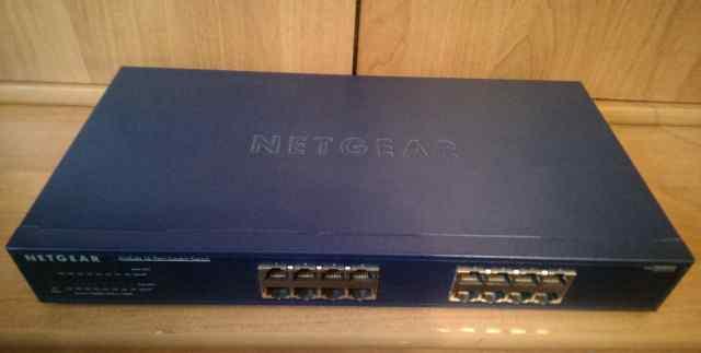 Коммутатор Netgear JGS516 16 портов switch гигабит