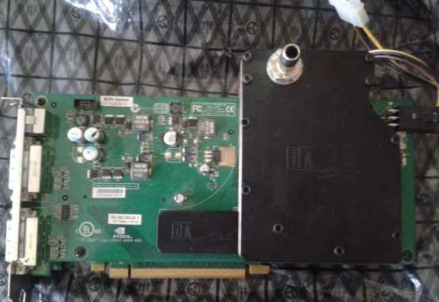 Nvidia GeForce 7950 GX2 1Gb DDR3, 2xCPU, водоблок