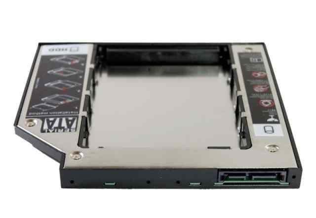Optibay 9.5mm для установки второго SSD HDD