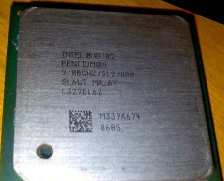 Intel Pentium 4 HT, S478, 2.8GHz / 512Kb / 800MHz