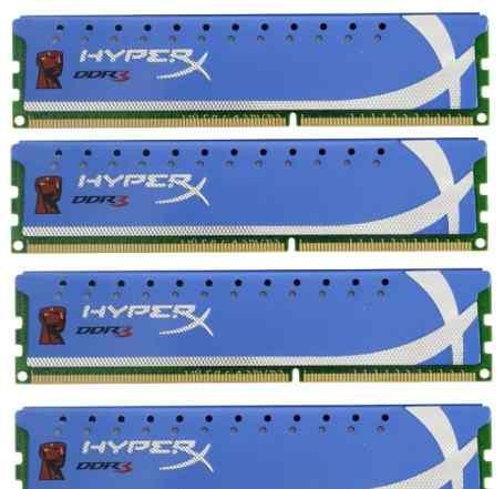 2400мгц. 8Гб Kingston KHX2400C11D3K4/8GX как новая