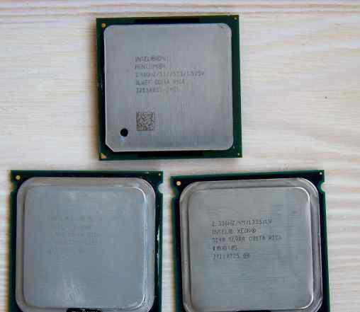 Процессор Intel Xeon, Pentium 4, AMD