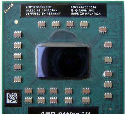 Процессор для ноутбука AMD Athlon II P320