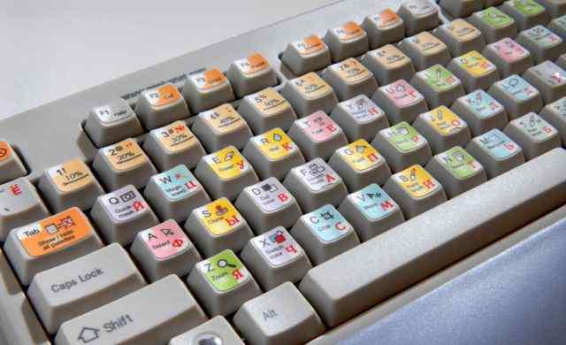 Наклейка на клавиатуру для Photoshop
