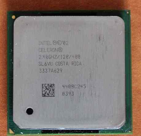 процессор Intel Celeron 2.4 ггц