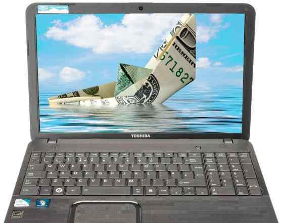 Ноутбук с большой диагональю + подарок флешка 8гб