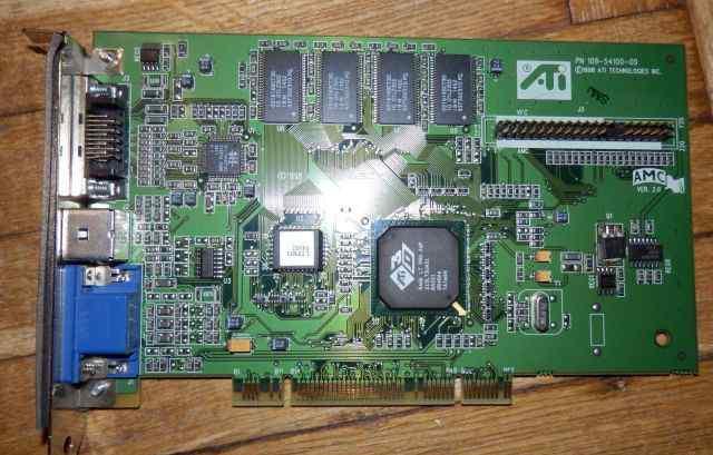 ATI 3D Rage LT PRO AGP PCI 8mb TV out